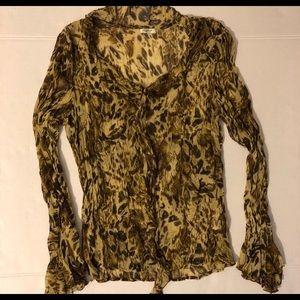 Agora Leopard Print Shirt (B20)